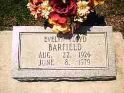 Evelyn Floyd Barfield