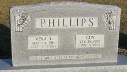 Vera L <i>Jones</i> Phillips