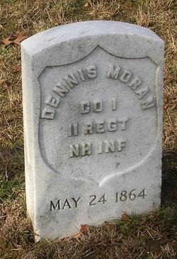 Pvt Dennis Moran