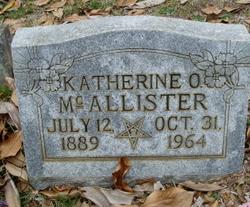 Katherine <i>O'Connor</i> McAllister