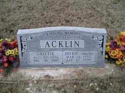 Griffie Acklin