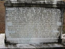Col Thomas Nepolean Adair