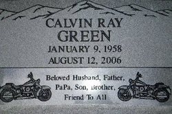 Calvin Ray Green