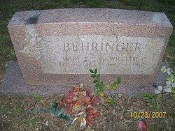 William Christian Willie Behringer