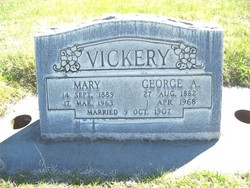 Mary <i>Woodruff</i> Vickery