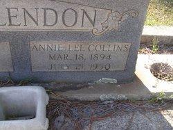 Annie Lee <i>Collins</i> McClendon
