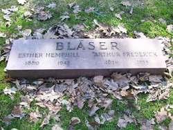 Esther <i>Hemphill</i> Blaser