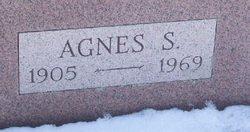 Agnes S Cross