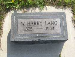 W. Harry Lang