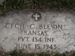 Pvt Cecil Clyde Blevins