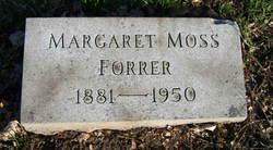 Margaret Moss <i>Wetherell</i> Forrer