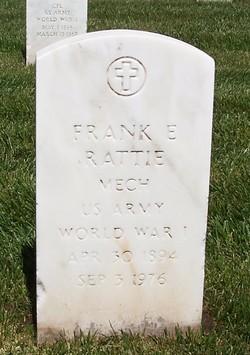 Frank E Rattie