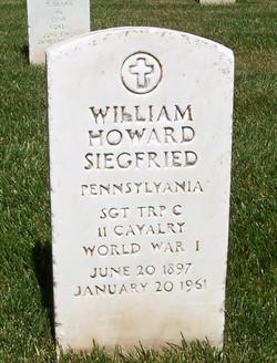 William Howard Siegfried