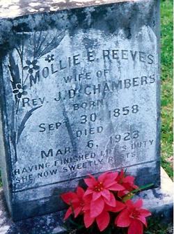 Mollie E <i>Reeves</i> Chambers