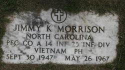 PFC Jimmy Keith Morrison