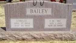 Ike M Bailey