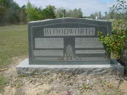 Annie <i>Johnston</i> Bloodworth