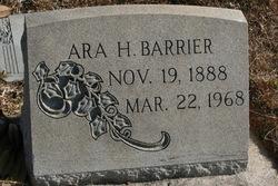 Ara H Barrier