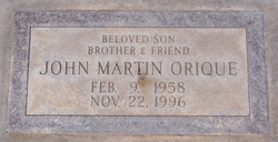 John Martin Orique