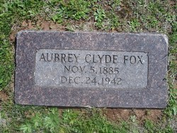 Aubrey Clyde Fox