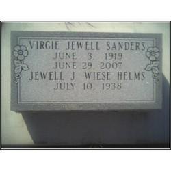 Virgie Jewell Sanders
