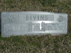 Louise Carrie <i>Samuel</i> Bivins