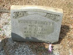 Minnie <i>Burkett</i> Allen
