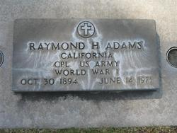 Raymond Howard Adams