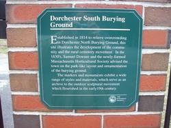 Dorchester South Burying Ground