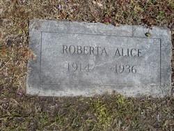 Roberta Alice Alexander