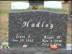 Roger Harlan Hadley
