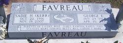 Sadie H <i>Kerr</i> Favreau