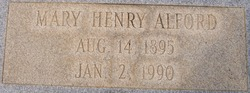 Mary Henry Alford