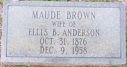 Maude <i>Brown</i> Anderson