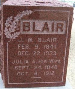 J W Blair