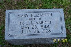 Mary Elizabeth <i>Sadler</i> Abbott