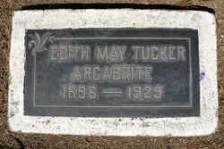 Edith May <i>Tucker</i> Argabrite