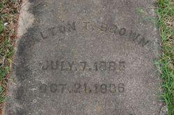 Dalton Talmadge Brown