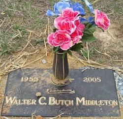 Walter C <i>Butch</i> Middleton