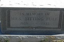 Mrs Sitting Bull