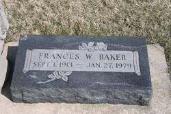 Frances W. Baker