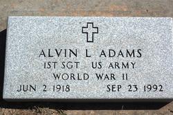 Sgt Alvin L. Adams