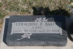 Geraldine P. Baker