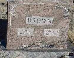 Lillie May <i>Zimmerman</i> Brown