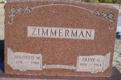 Mildred Melissa <i>Eberspecher</i> Zimmerman