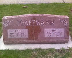 Ida <i>Schlipf</i> Pfaffmann