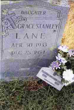 Peggy Grace <i>Stanley</i> Lane