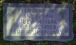 Florence L <i>Thompson</i> Anderson