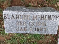Blanche McHenry