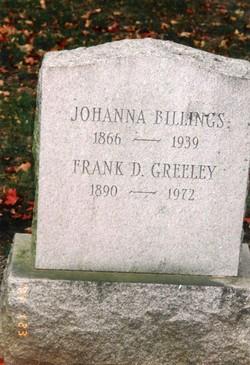 Johanna <i>Mahoney</i> Billings